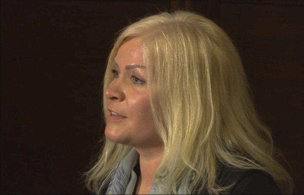 陪同拉提法溜出杜拜的芬蘭籍女性密友提娜.尤何彥。 美聯社