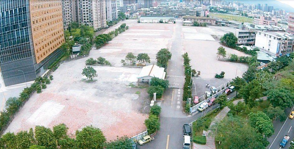台電南港北儲中心南側土地。 戴德梁行/提供