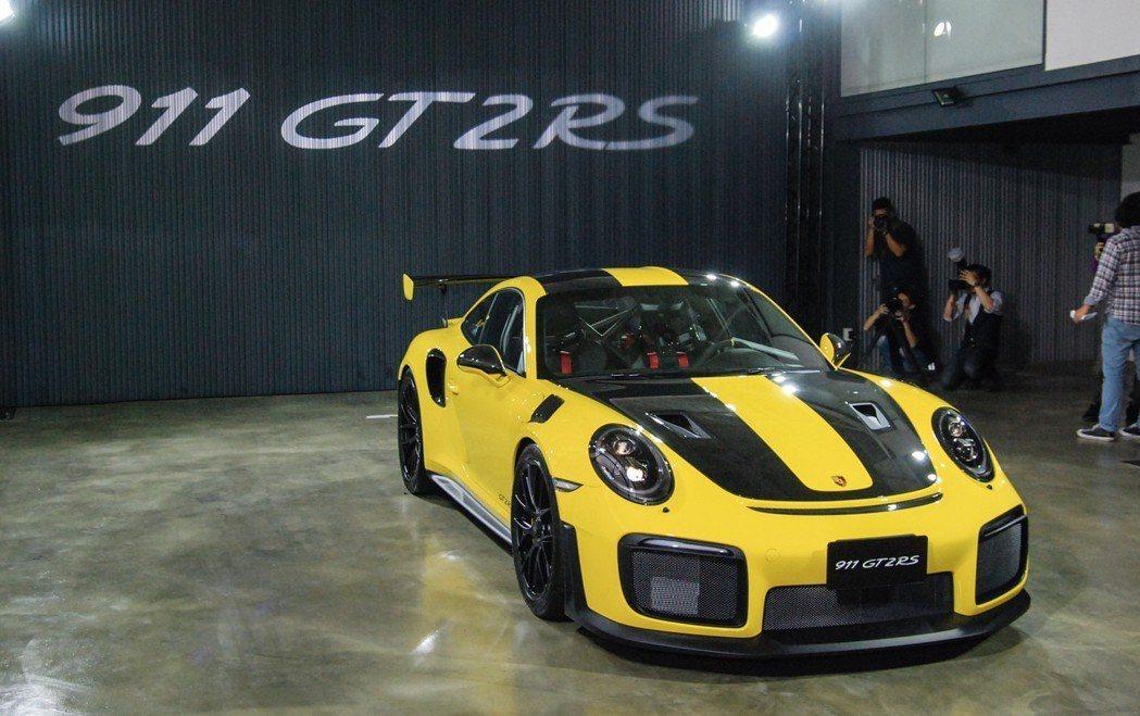 Porsche Taiwan 今(4)日帶來 911 車系中最凶悍、並創下紐伯林...