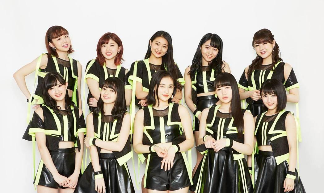 日本早安家族(Hello! Project)女團ANGERME將來台見歌迷。圖/