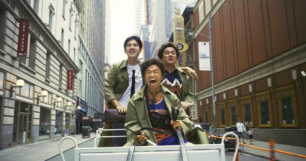 今年春節在大陸票房突出的「唐人街探案2」將在台特映。圖/兩岸電影展提供