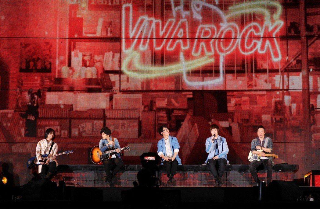 五月天4日起連續在香港開唱6場演唱會。圖/相信音樂提供