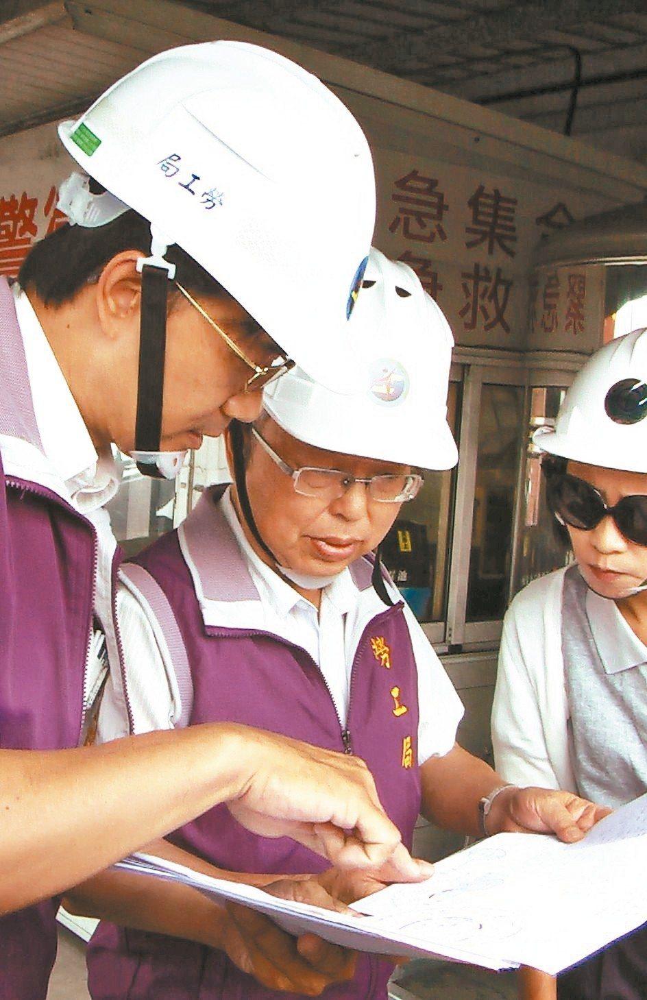 勞工局示意圖,非新聞當事人。 記者徐如宜/攝影