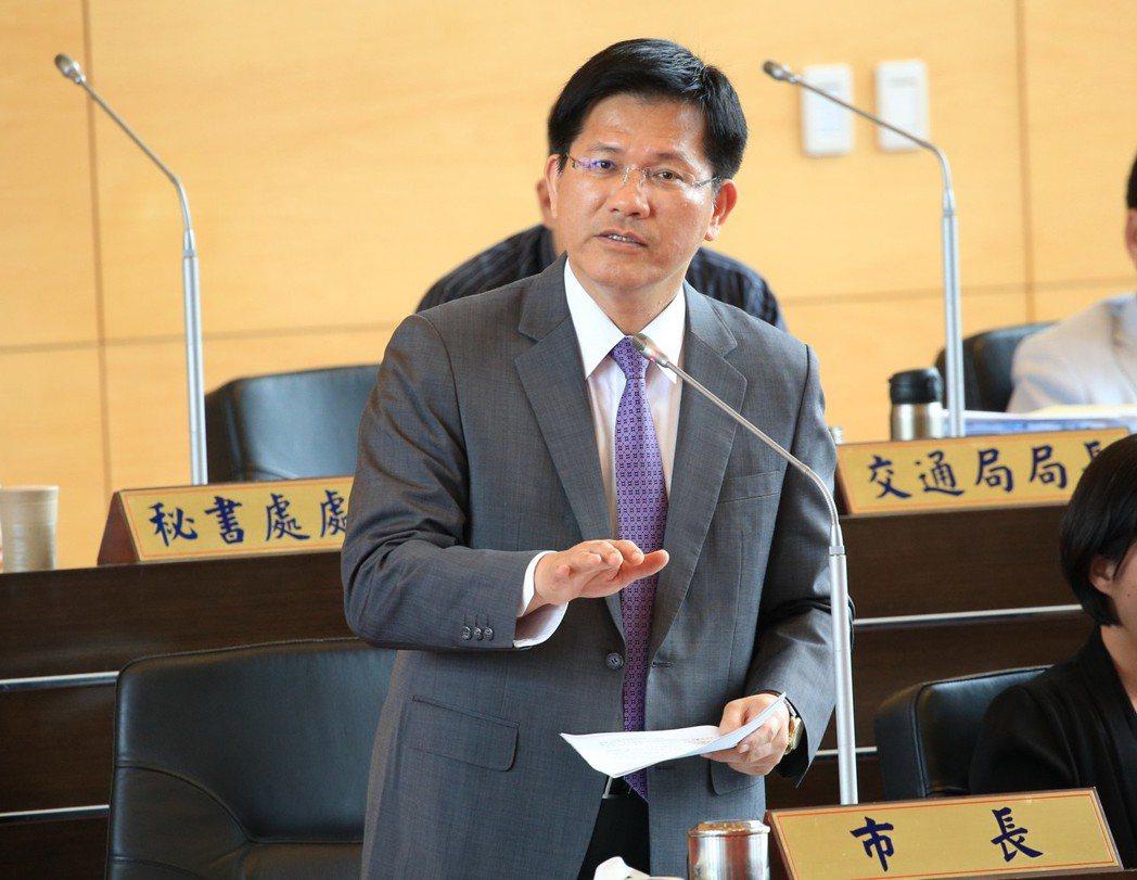 台中市長林佳龍是「野百合學運」的主要發起人之一。 圖/聯合報系資料照片