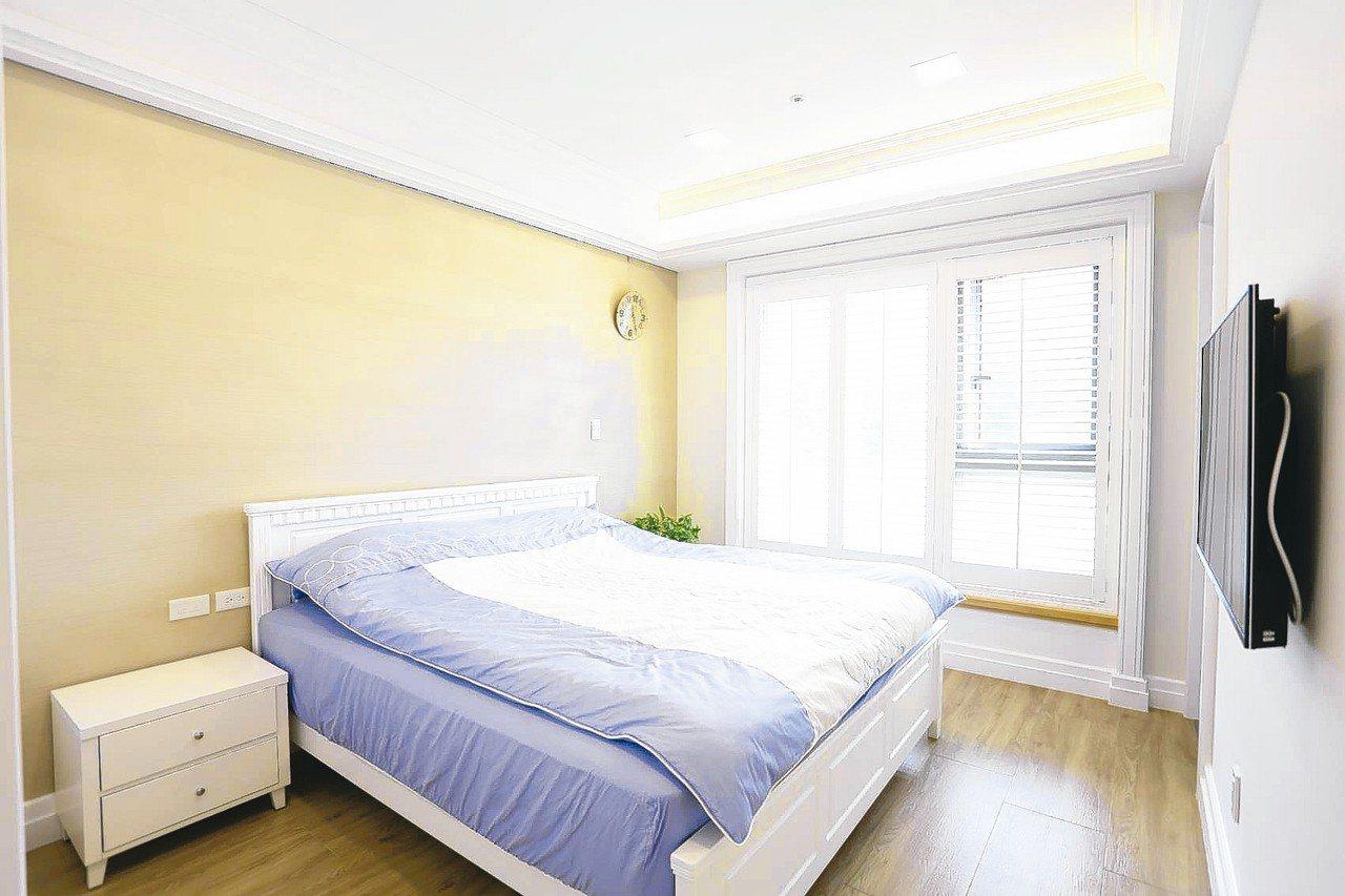 臥室空間不宜太小,最好是床的左右邊各有50公分以上的走道,方便上下床。 永慶居家...