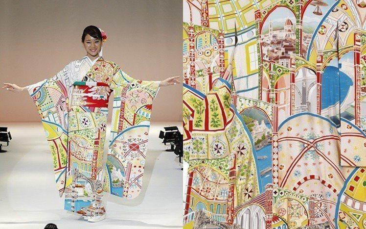 義大利的和服。圖/擷自kimonoproject