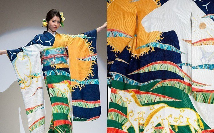 哈薩克的和服。圖/擷自kimonoproject
