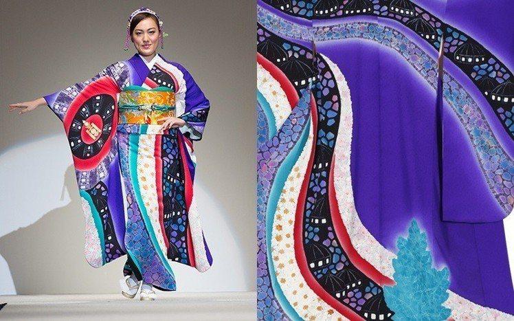 蒙古的和服。圖/擷自kimonoproject