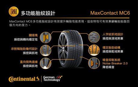 滿足亞太車主需求 德國馬牌輪胎推出 MaxContact MC6 、ComfortContact CC6