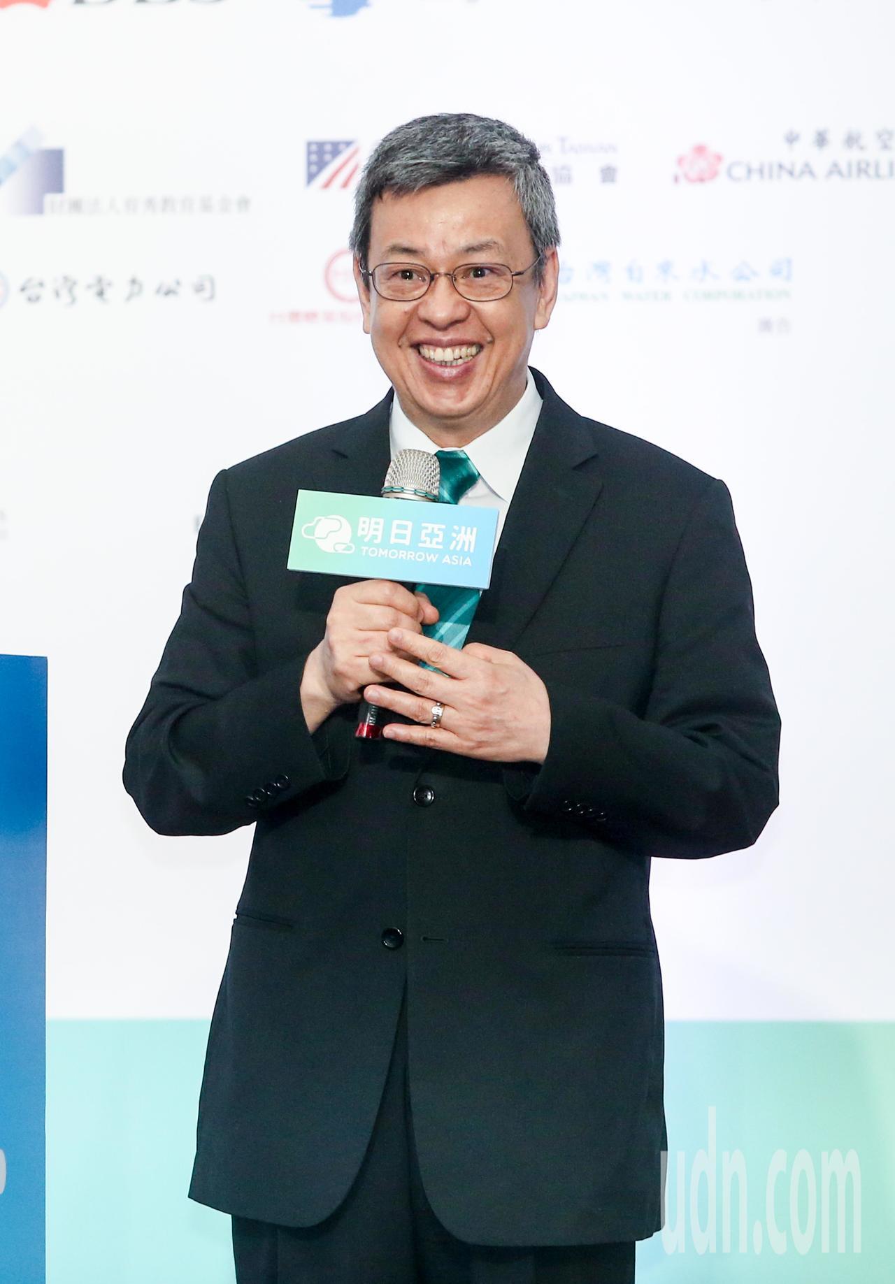副總統陳建仁。聯合報系記者鄭清元/攝影