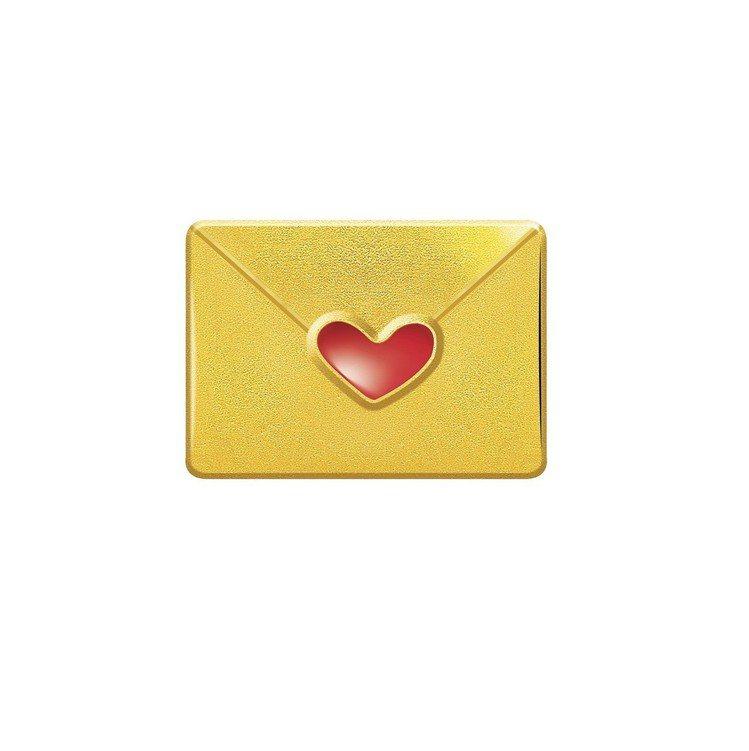 Just Gold x Hello Kitty經典復刻系列信封造型單耳耳環,9,...
