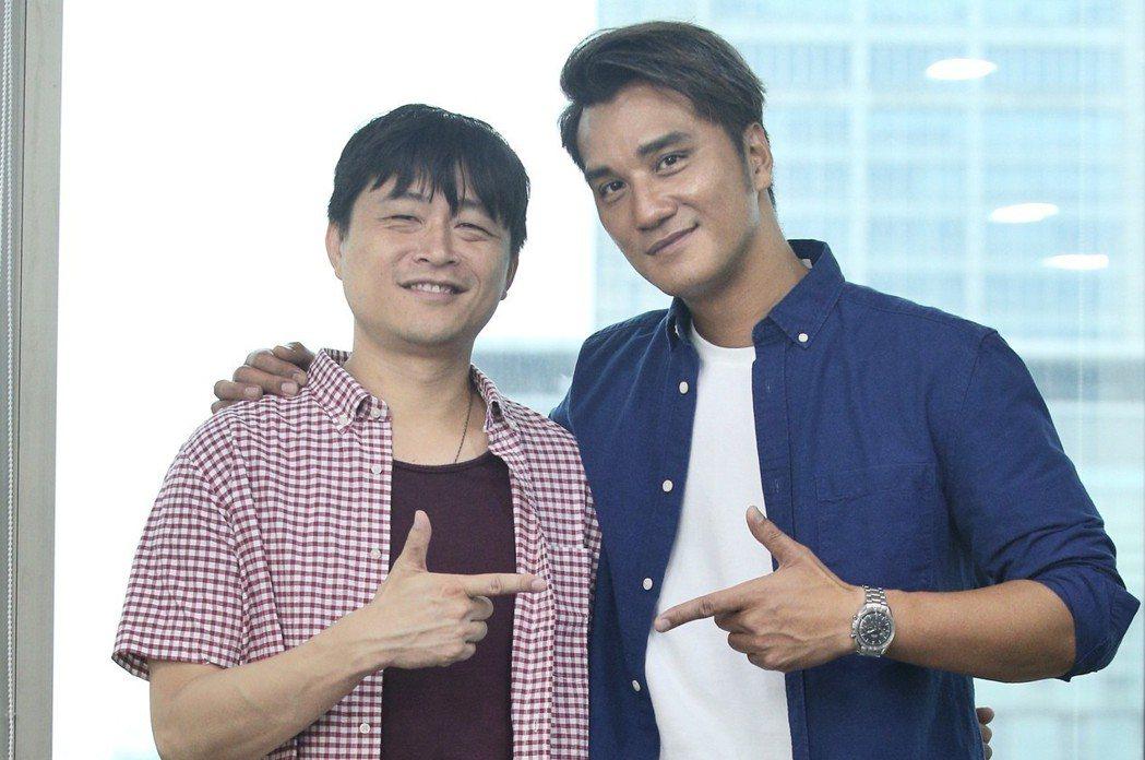 馬志翔與連奕琦合作「市長夫人的秘密」,不怕爭議。記者林伯東/攝影
