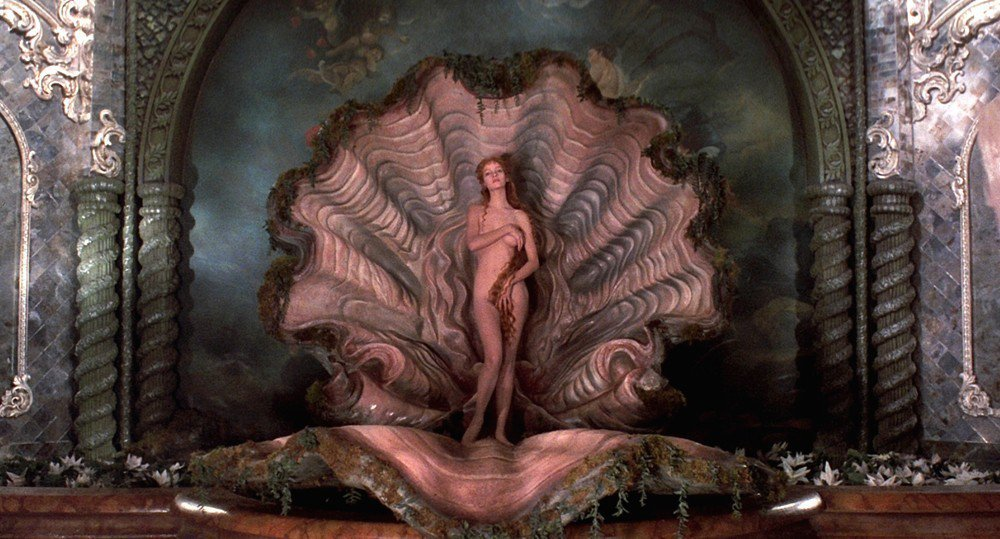鄔瑪舒嫚18歲時就曾全裸扮演維納斯。圖/摘自thefilmexperience....