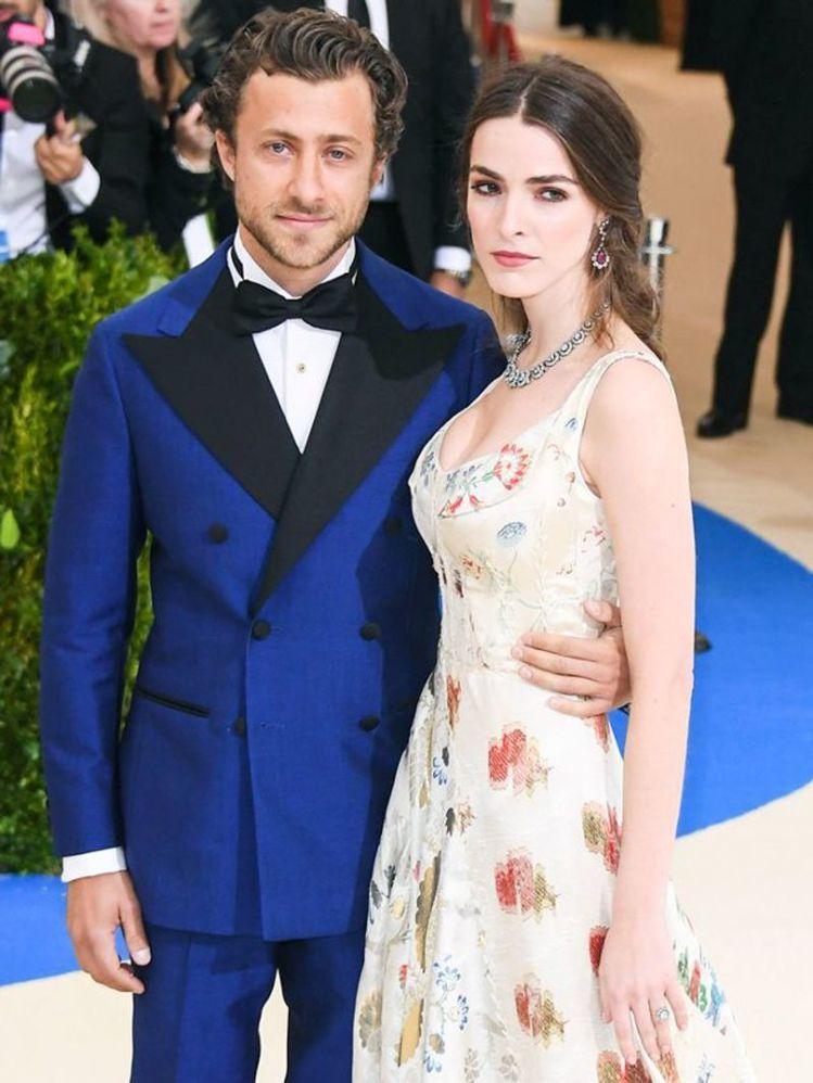 碧夏佛與未婚夫Francesco Carrozzini。圖/摘自Pinteres...