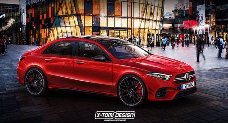 全新Mercedes-Benz A45 AMG四門版本 有可能成真嗎?