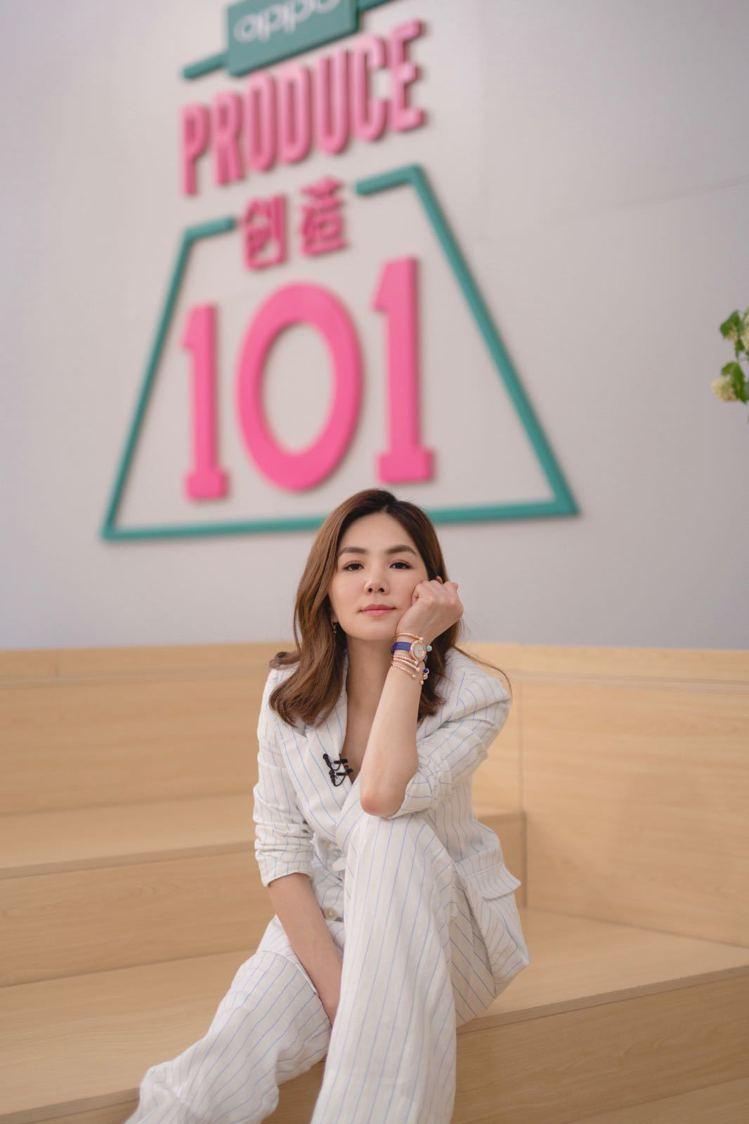 Ella陳嘉樺擔任大陸選秀節目《創造101》歌唱導師。圖/伯爵提供