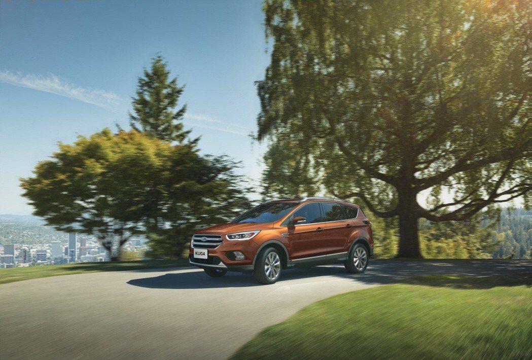即日起至2018年5月31日止,Ford Kuga EcoBoost 180時尚影音型舊換新限量82.8萬元。 圖/福特六和提供