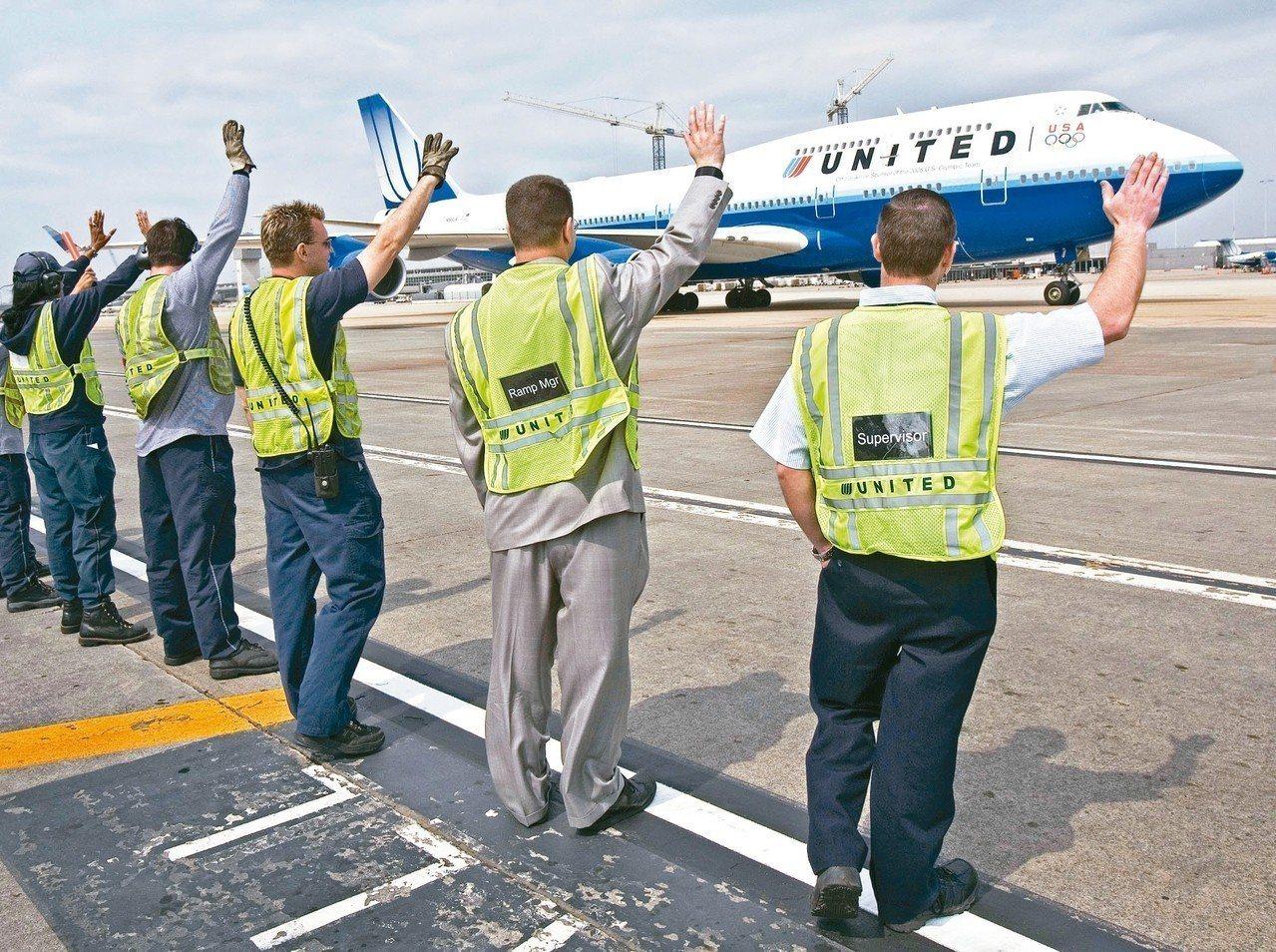 白宮五日批評中國大陸,企圖將自己的政治正確觀念強加給美國航空公司。圖為華府杜勒斯...