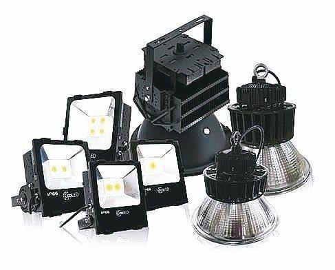 昶旭COOLED品牌LED燈,市場發光。 昶旭/提供
