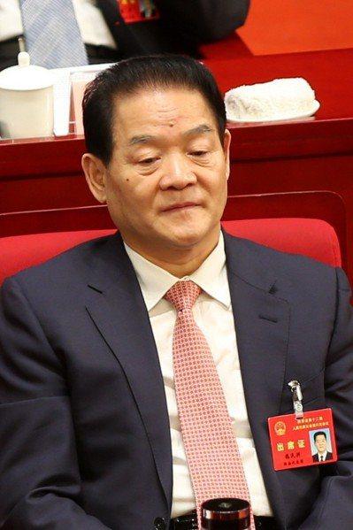 前陜西省人大常委會副主任魏民洲。 中新社