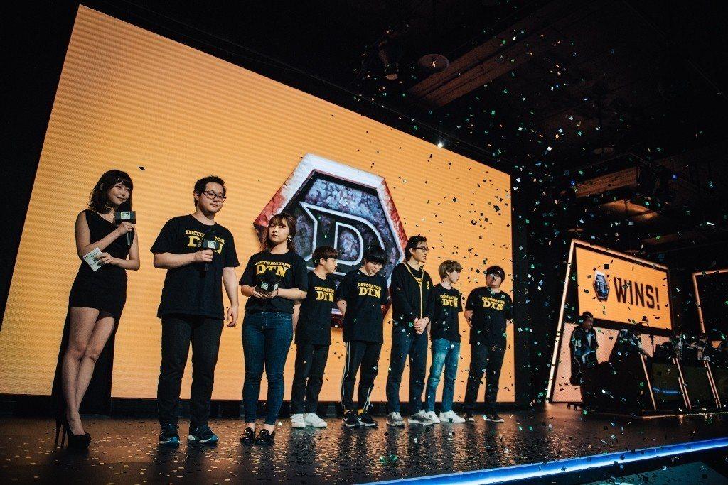 恭喜 Detonator KR 獲得《鬥陣特攻》太平洋職業競技賽第一季冠軍