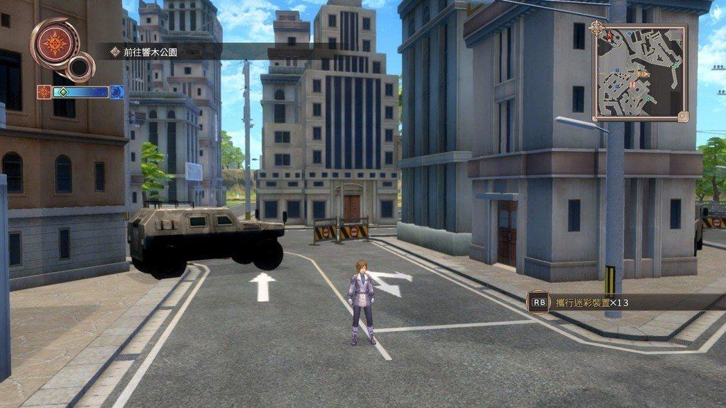 已經很少看到如此粗糙的場景設計,第一眼看到還以為是 PS2 遊戲。