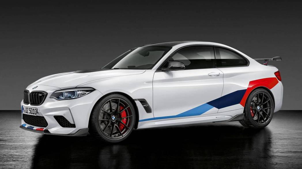 圖為BMW M2 Competition M Performance Parts...