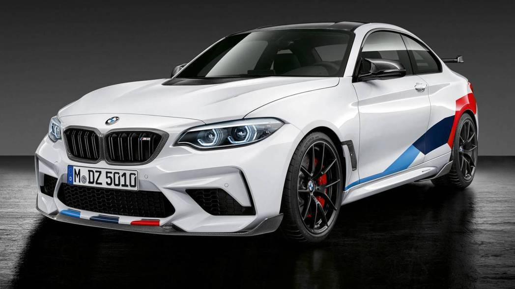 BMW M2 Competition M Performance Parts完全走競技路線。 摘自BMW