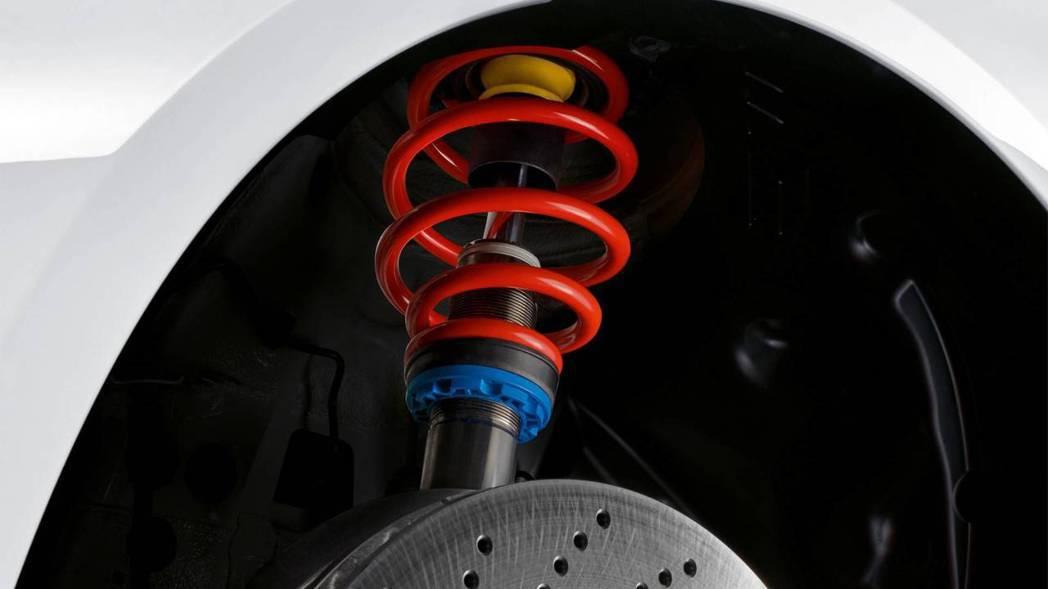 升級過後的主動式懸吊系統。 摘自BMW