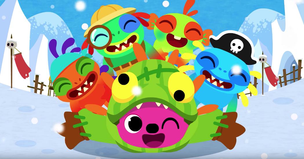 韓國暴雪和Pinkfong一起推出了這首以魚人為主角的兒歌「Baby Murlo...