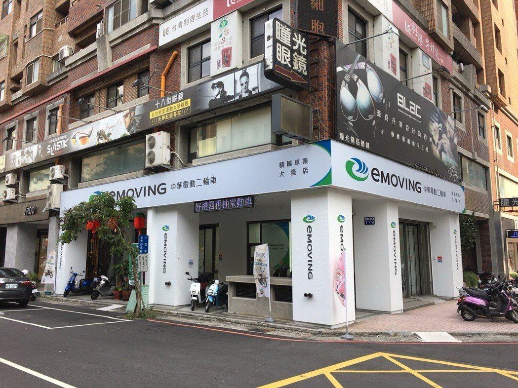 中華汽車自2016年起積極設立專賣據點,預計2018年底完成共50家旗艦店專賣店之建置。圖為台中大隆店之外觀。 圖/中華汽車提供