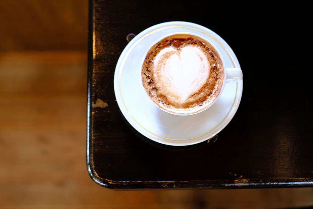 店內咖啡比例也是老闆的自信之作