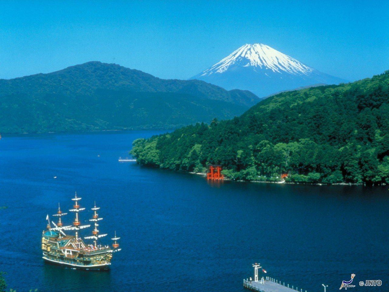 ▲富士山和蘆之湖。(圖/©Odakyu Electric Railway/©JN...