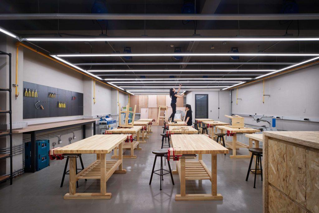ICT工坊將「想」與「做」綁在一起,也翻轉了台灣的校園美學與公共工程。圖/ UP...