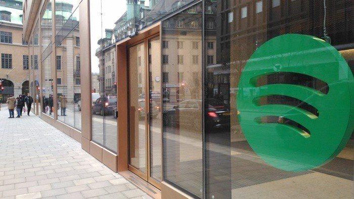 Spotify在斯德哥爾摩的總部辦公室非常低調,行人路過也未必會注意到。