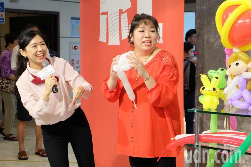 影/羅東護理師熱舞、反串、折氣球 病患:病好了一半