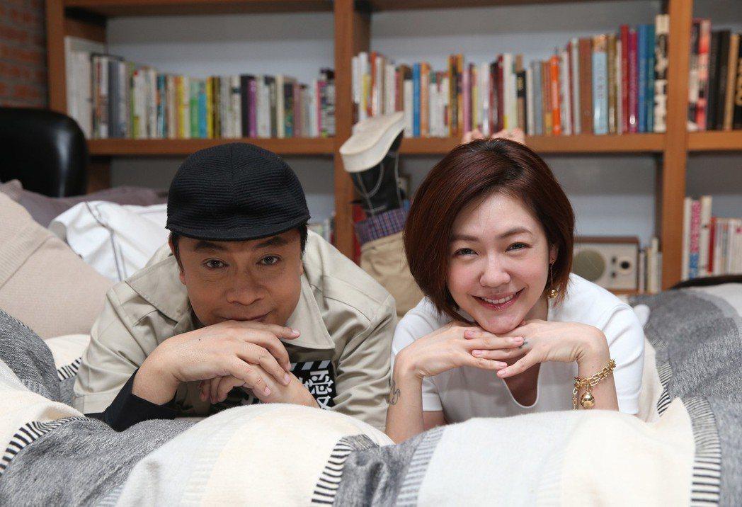 蔡康永(左)與徐熙娣(小S)。記者陳瑞源/攝影