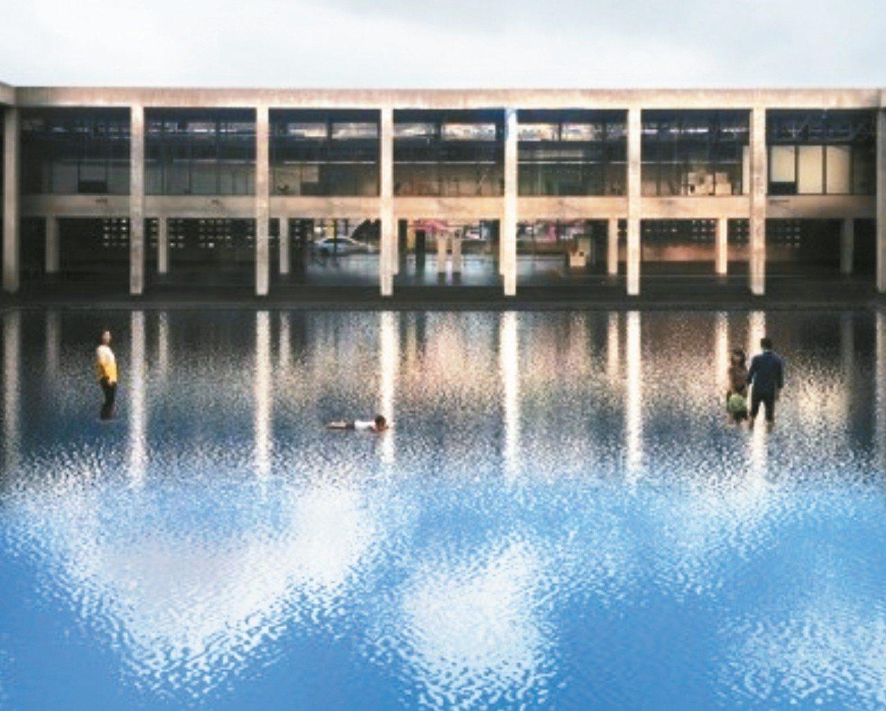 因金澤21世紀美術館「泳池」作品而聞名的厄里奇,今年也會在藝術祭推出新作。 圖/...