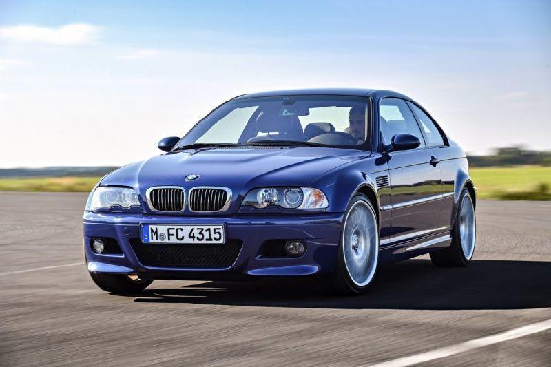 BMW E46 M3。 摘自BMW
