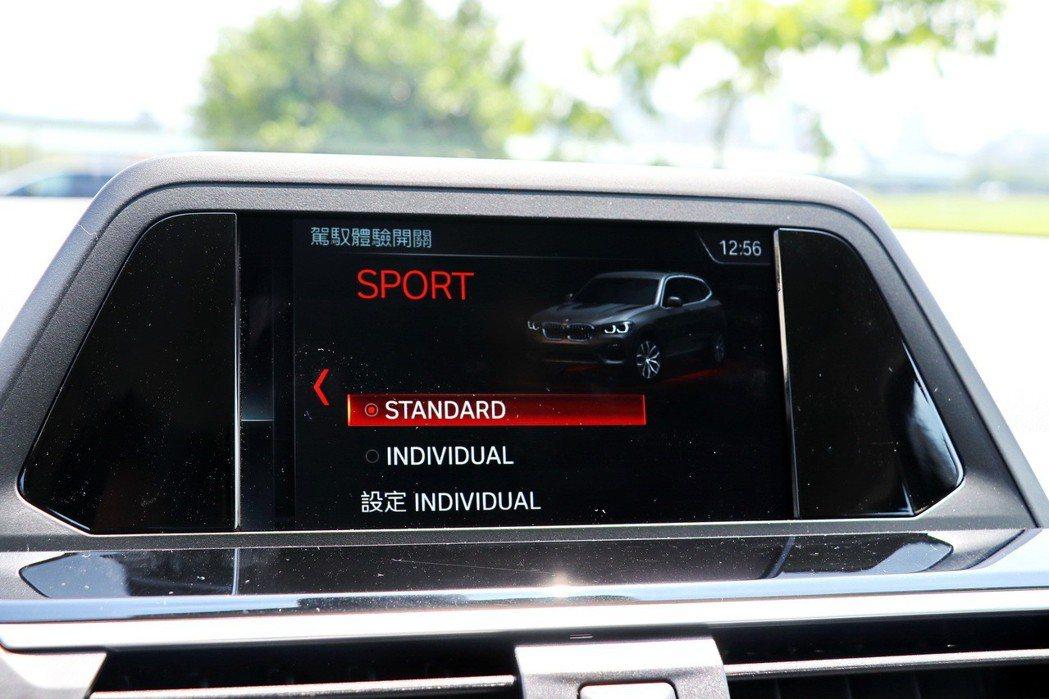 配備動態行車模式切換。 記者陳威任/攝影