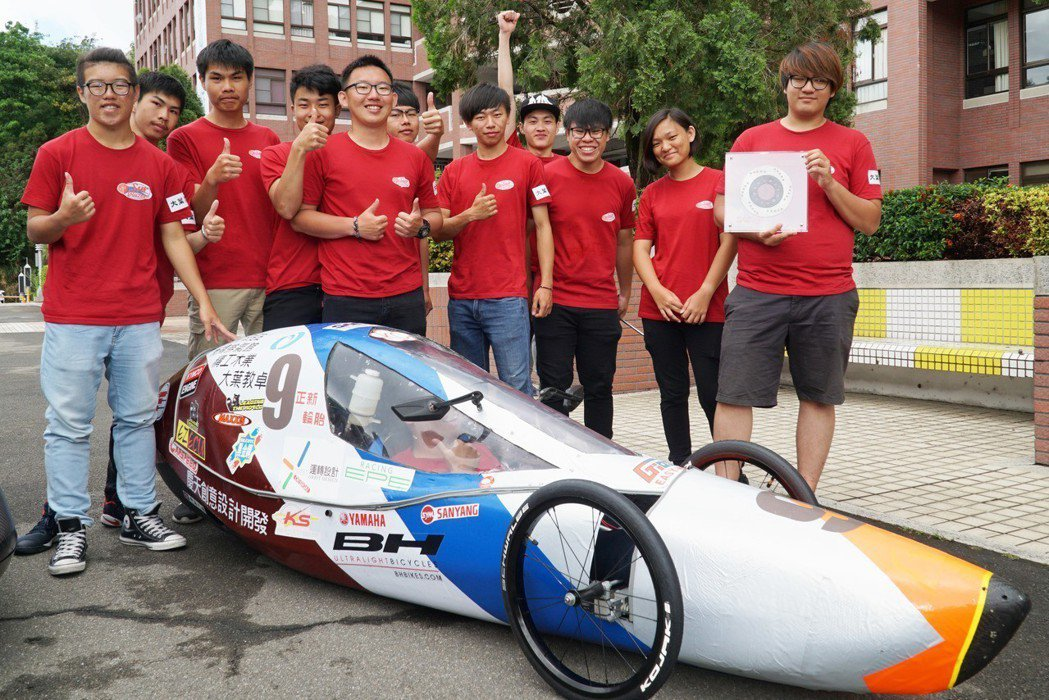 機械系Surblazers車隊,榮獲全國大專院校環保節能車大賽車輛製作靜態競賽佳...