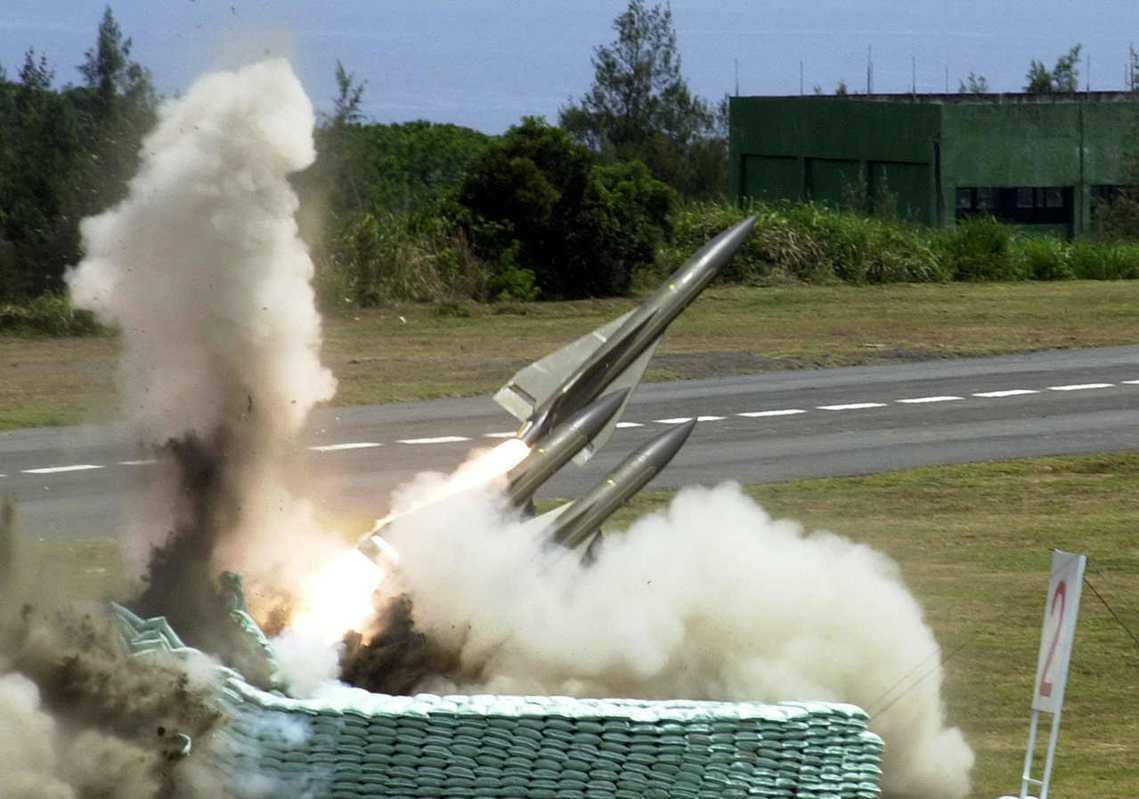 我國國軍也有使用的鷹式飛彈。 圖/路透社