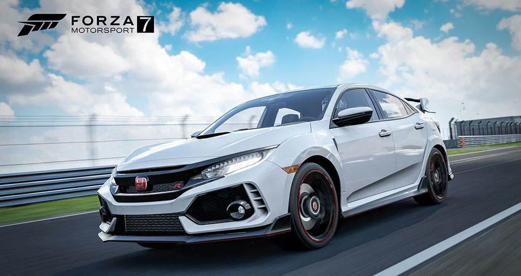 Honda Civic Type R FK8。 摘自Forza Motorspo...