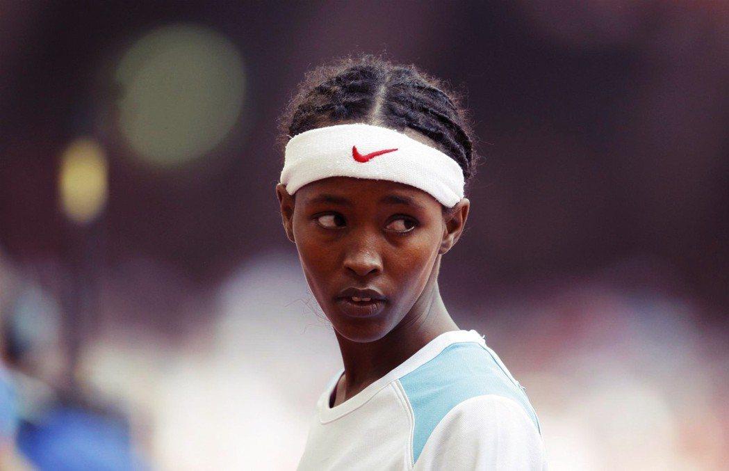 這是薩米亞・尤瑟夫.奧瑪,200公尺的賽道是她的少女人生。 圖/歐新社