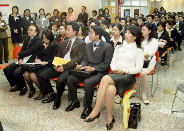 示意圖,台灣金融業的徵才活動/聯合報系資料照