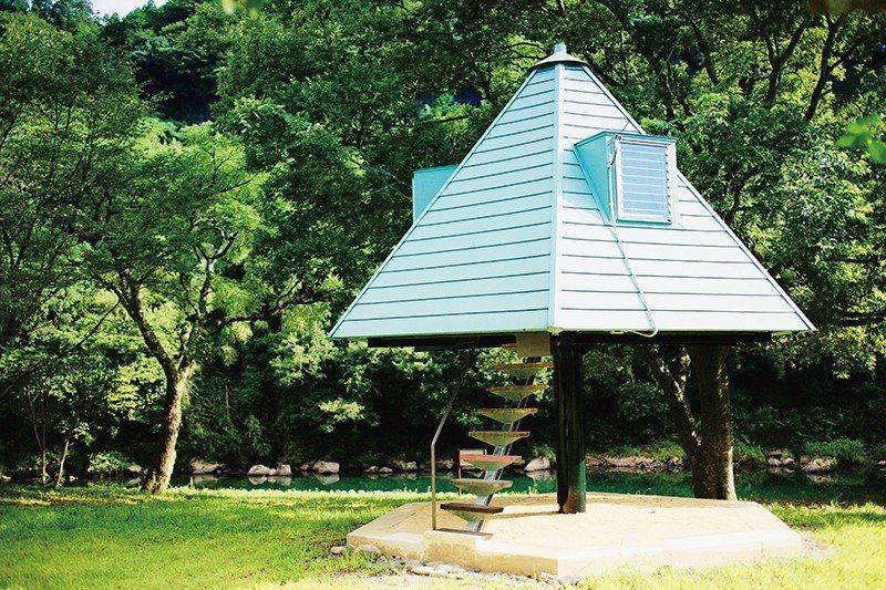 除了樹型屋外,還有小木屋等不同屋型可選擇。