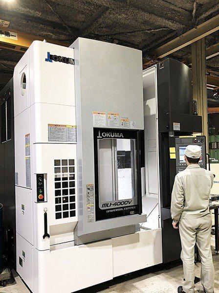 圖5 : 日本大隈新一代數位控制CNC綜合加工中心機可對運動軸伺服參數進行調整。...