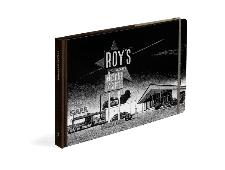 66號公路遊記系列平裝版,售價1,750元。圖/LV提供