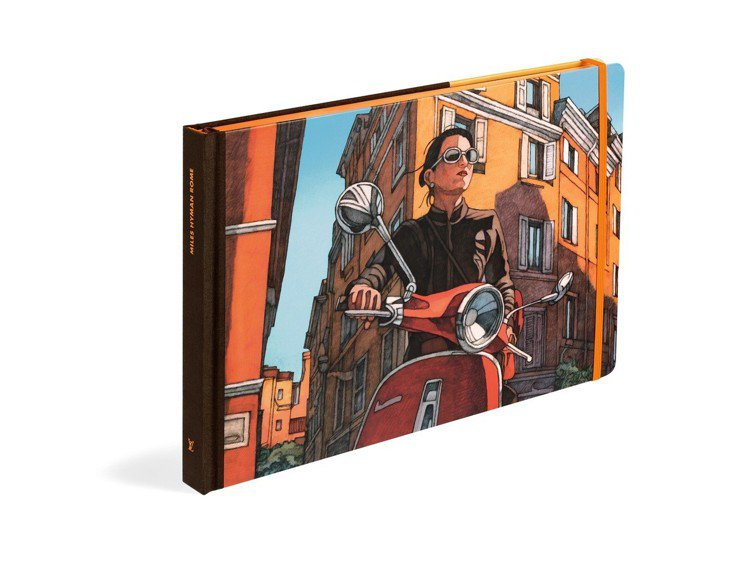 羅馬遊記系列平裝版,售價1,750元。圖/LV提供