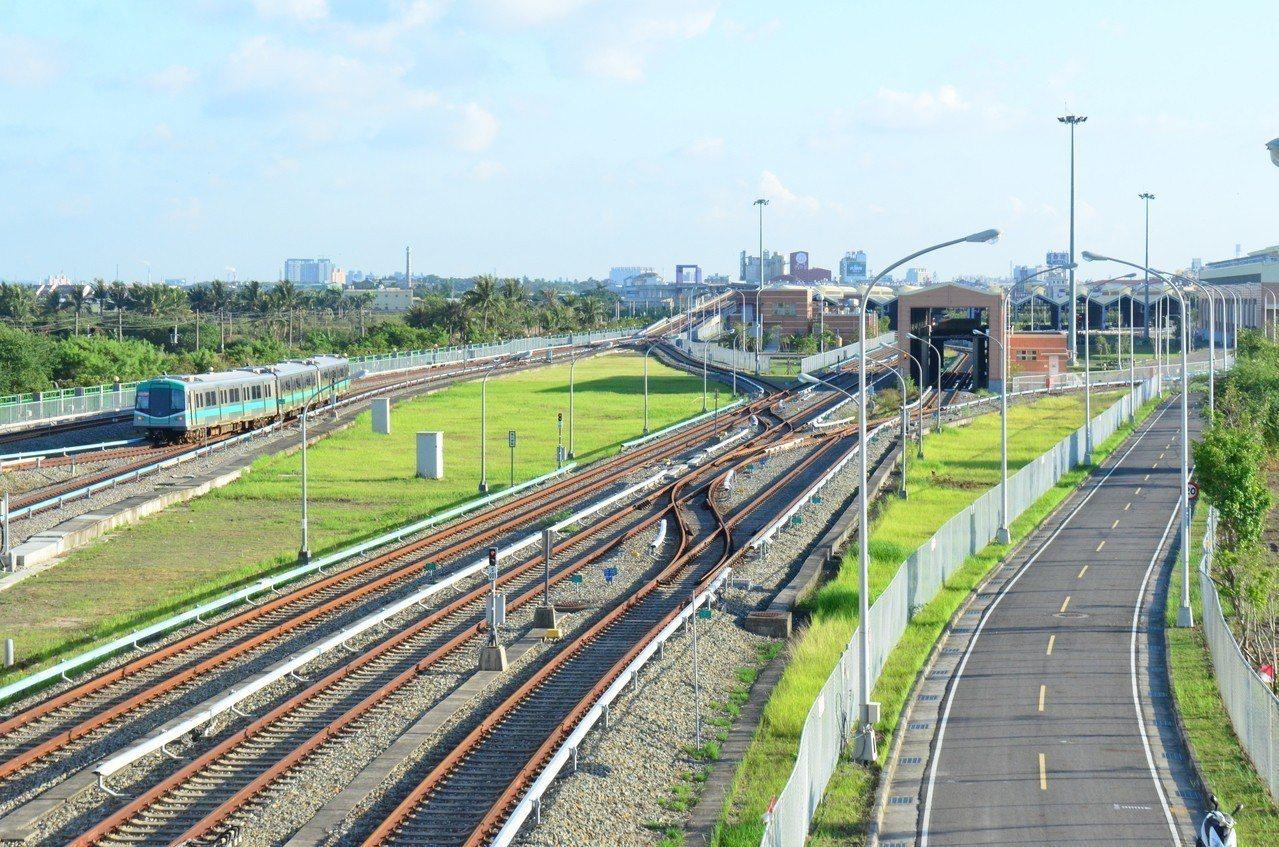高市府今表示,高雄捷運路竹延伸線第一階段工程,一定在年底前動工。圖/本報資料照片